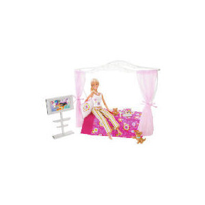 Photo of Barbie Bedroom Furniture & Doll Toy