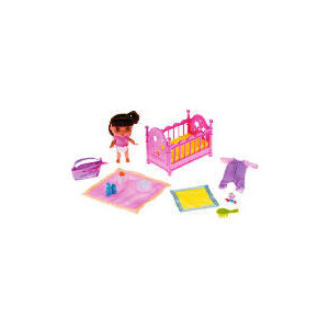 Photo of Dora Baby Dora Bedtime Playset Toy