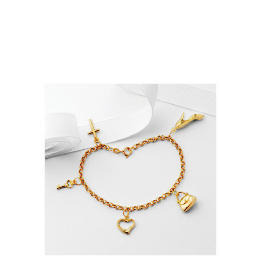9ct Gold Five Charm Bracelet Reviews