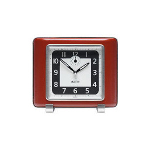 Photo of Acctim Mayfair Retro Clock Red Clock