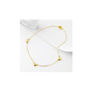 Photo of 9CT Gold Three Heart Anklet Jewellery Woman