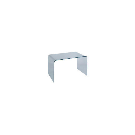 Geneva Glass Desk - Black