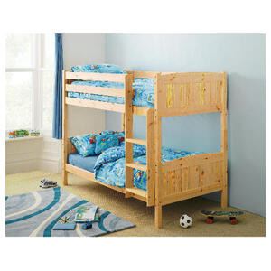Photo of Ashley Pine Detachable Bunk Bed Bedding