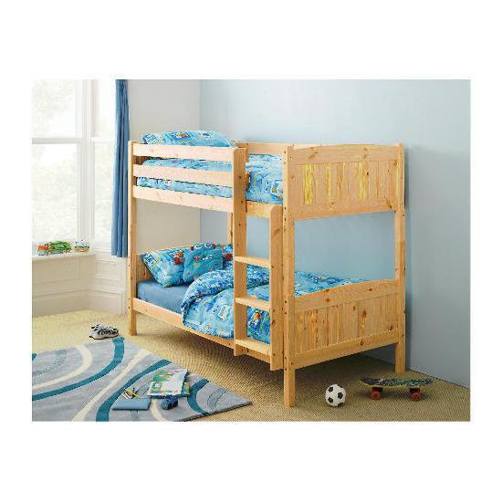 Ashley Pine Detachable Bunk Bed