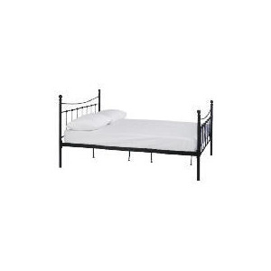 Photo of Lincoln DBL Bed Frame, Black Bedding