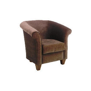 Photo of Pimlico Occasional Chair, Velvet Mocha Furniture