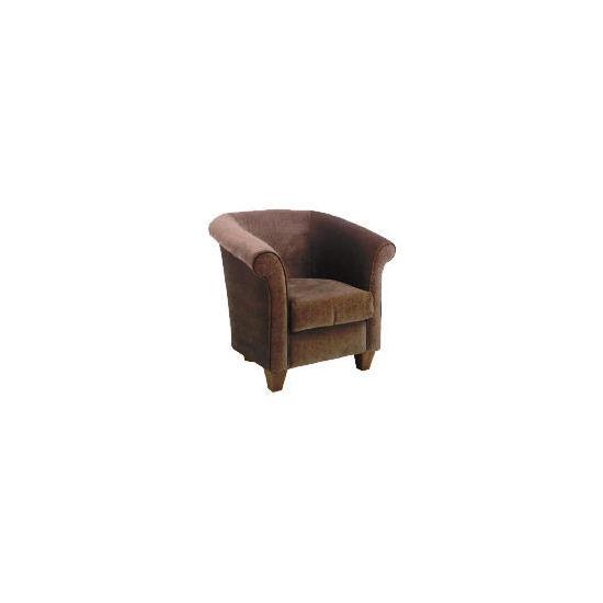 Pimlico Occasional Chair, Velvet Mocha