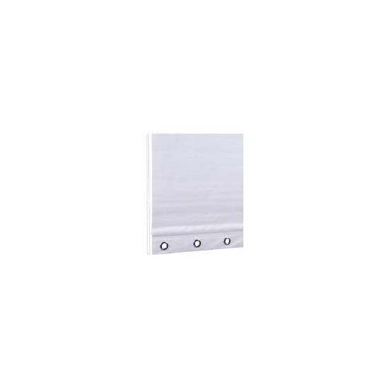 Eyelet Roller Blind 180x160cm White