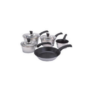 Photo of Jean Christophe Novelli 5 Piece Kitchen Cookware Set Cookware
