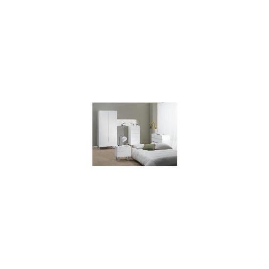 Costilla Bedside Chest, White