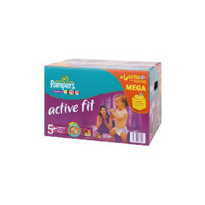 Photo of Pampers Active Fit Mega Pack Junior Plus 87 Baby Product
