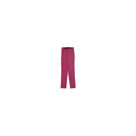 Tesco Girls Heavy Duty Pink Jodhpurs age 5-6