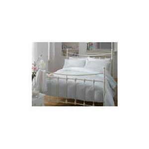 Photo of Elspeth Gibson Lily Duvet Set Double - EAU De Nil Bedding