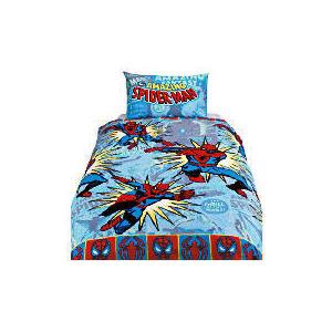 Photo of Spiderman Marvel Comics Rotary Duvet Bed Linen