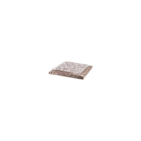 Tesco Pink Satin Bedspread