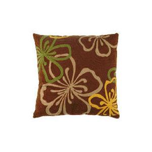 Photo of Tesco Embroidered Flower Cushion, Loretta Furniture
