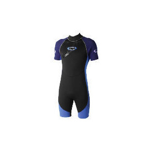 Photo of TWF Wetsuit Shortie Mens 48/46 Blue Sports and Health Equipment