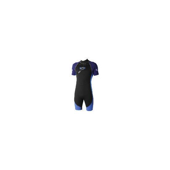 TWF Wetsuit Shortie Mens 48/46 Blue
