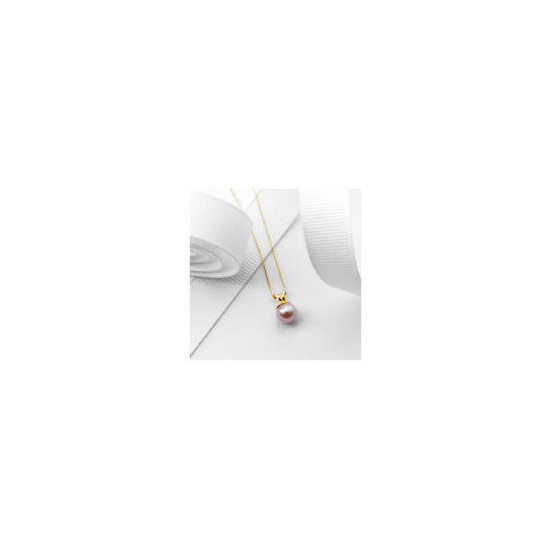 9ct Gold Freshwater Pink Pearl Pendant