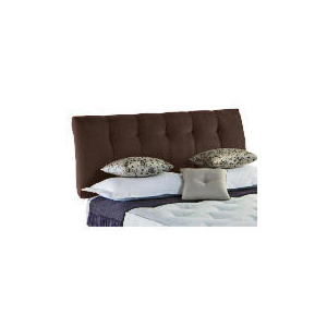 Photo of Rest Assured Bordeaux Double Headboard In Cocoa Bedding