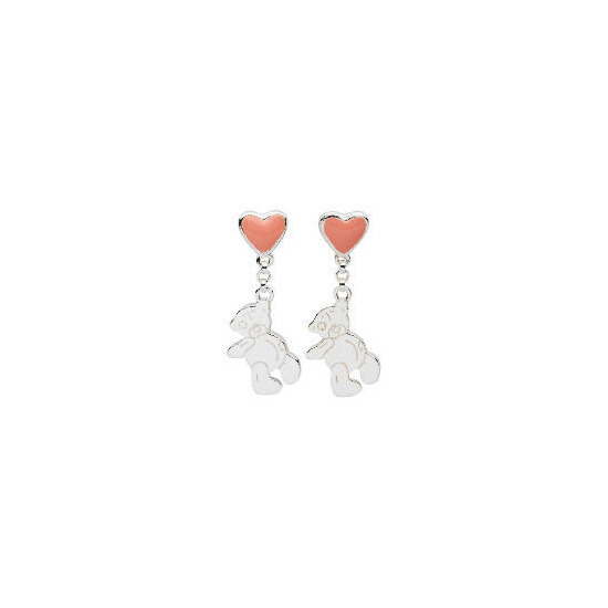 Me To You Pink Heart and Tatty Teddy Earrings