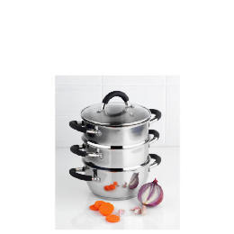 Ready Steady Cook Bistro 3 piece steamer 18cm Reviews
