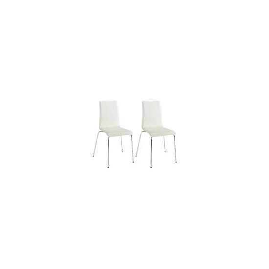 Pair of Garda Chairs, Cream