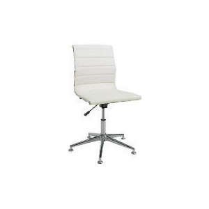 Photo of Hannah Home Office Chair, White Office Furniture