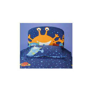Photo of Cheeky Monsters Single Headboard Bedding