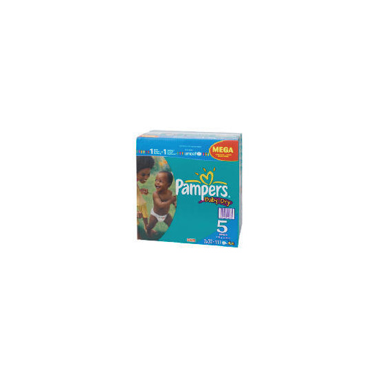 Pampers Baby Dry Mega Pack Junior 111