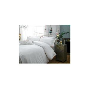 Photo of Elspeth Gibson Dotty Duvet Set Kingsize, White Bed Linen