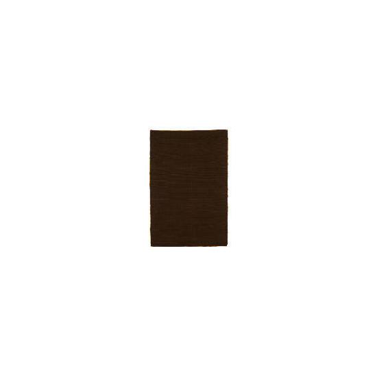 Tesco Jute Rug, Chocolate