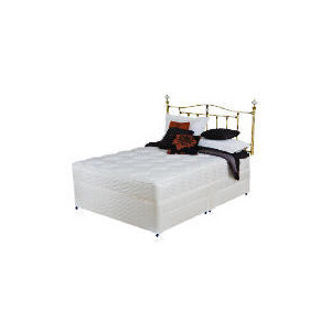 Photo of Silentnight Miracoil 3-Zone Latex Oregon Double 4 Drawer Divan Set Bedding