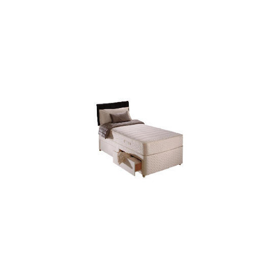 Sealy Classic Memory Comfort Single 2 Drawer Divan Set