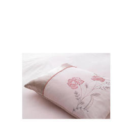 Tesco Amiee Embroidered Cushion, Pink Reviews
