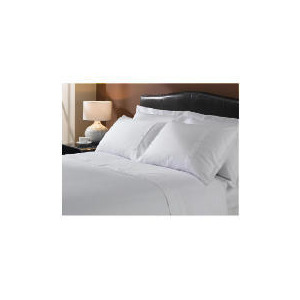 Photo of Hotel 5* Squares Duvet Set Superking, White Bed Linen