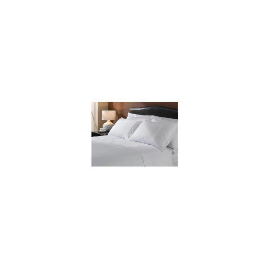 Hotel 5* Squares Duvet set Superking, White