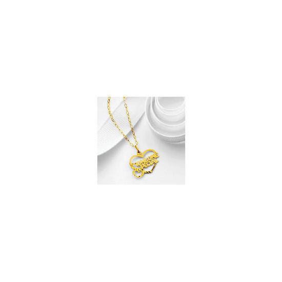 9ct Gold Someone Special Heart Pendant