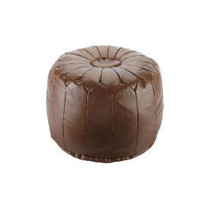 Photo of Tesco Morrocan Pouffe Tan Furniture
