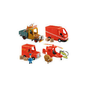 Photo of Postman Pat Push Along SDs Helicopter & Access Toy