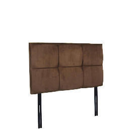 Mayfair Double Headboard, Mocca Faux Suede Reviews