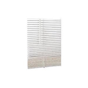 Photo of Wood Venetian Blind Chalk 120CM 25MM Slats Blind