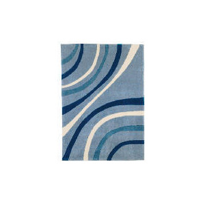 Photo of Tesco Waves Rug Duck Egg 150X240CM Rug