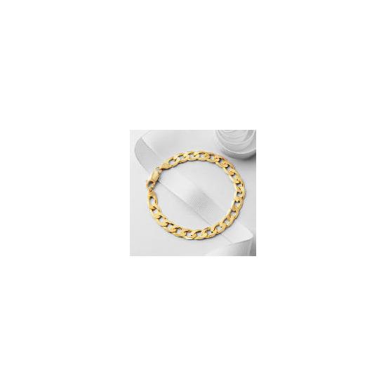 9ct Gold Gents Curb Bracelet