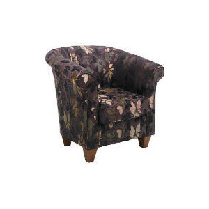 Photo of Pimlico Occasional Chair, Leaf Chocolate Furniture