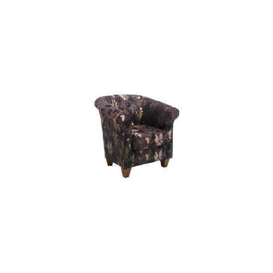 Pimlico Occasional Chair, Leaf Chocolate