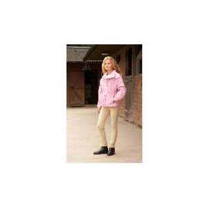 Photo of Pink/Floral Riding Jacket 9-10 Years Sports and Health Equipment
