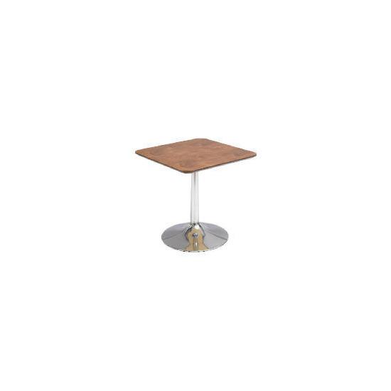 Mesa Side Table, Walnut veneer