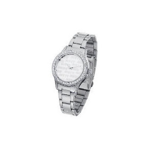 Photo of Miss Sixty Silver Diamante Bracelet Watch Watches Woman
