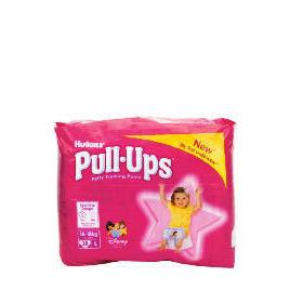 HUGGIES PULL UPSMEGA PACK       GIRL LARGE 38 Reviews